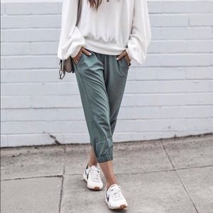 Zella green put & about pants